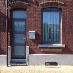 Pose de châssis grise PVC Brabant Wallon – FT Chassis